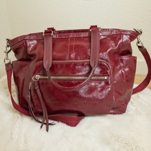 Coach Patent Leather Diaper Bag Lots of Room! GUC